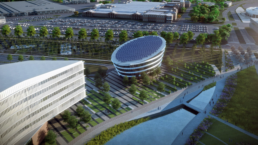 Ford previews its new product & world headquarter campuses