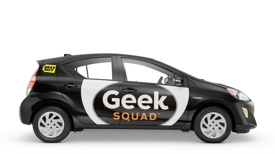 Toyota Prius C picked as Best Buy Geek Squad's new ride