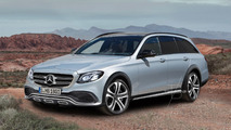 Mercedes E-Class All Terrain speculative render