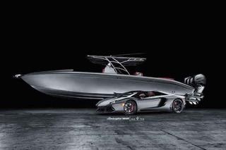 Lamborghini Aventador and Luxury Speedboat Combo Costs $1M