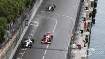 Felipe Massa, Williams FW38 and Sebastian Vettel, Ferrari SF16-H
