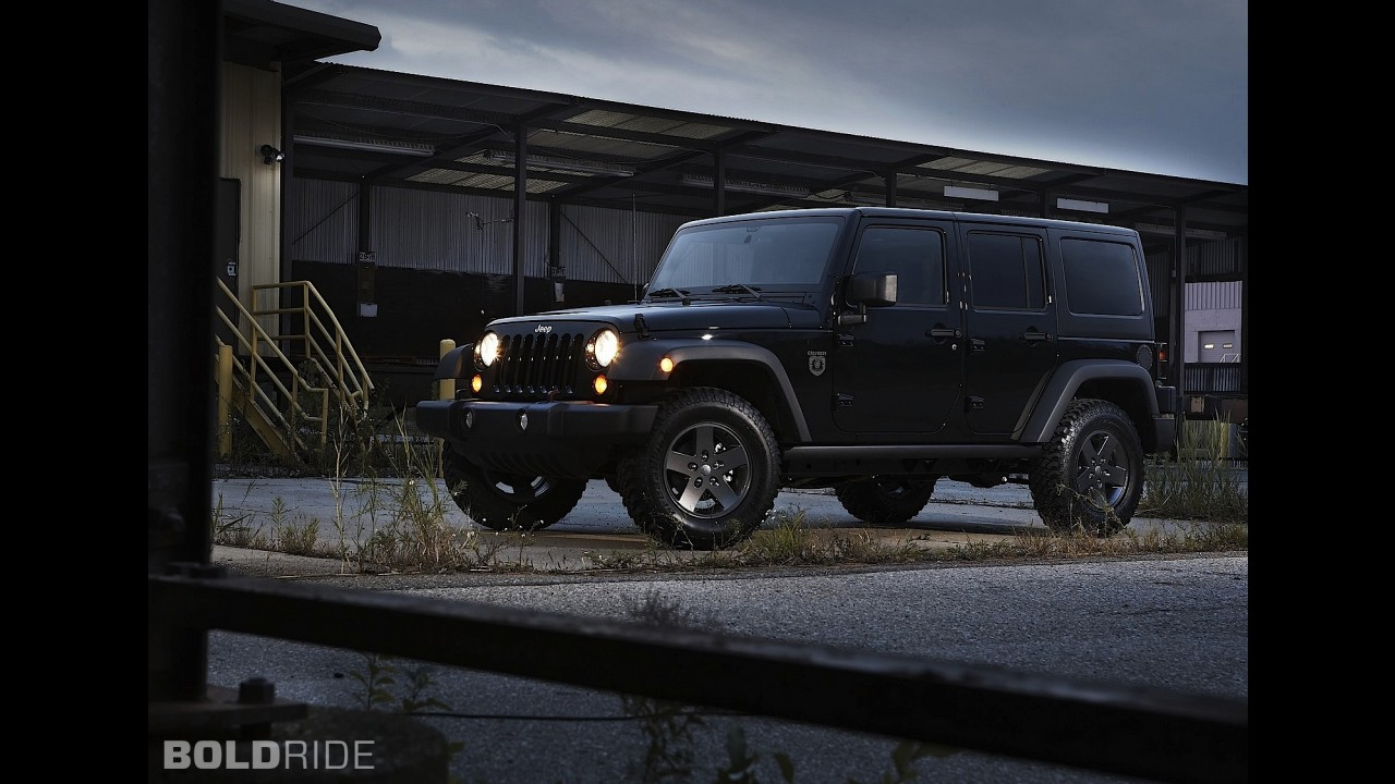 Jeep Wrangler Call of Duty Black Ops Edition