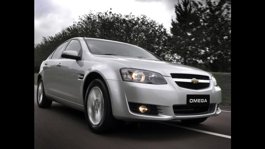 Chevrolet lança o Omega Fittipaldi - Sedan traz motor V6 3.6 litros de 292 cv com injeção direta