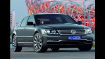 Novo Phaeton está pronto, mas VW diz que não vai lançá-lo agora