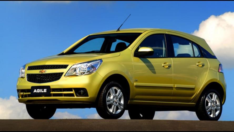 Chevrolet Agile será destaque da marca no Salão do Automóvel de Detroit - EUA