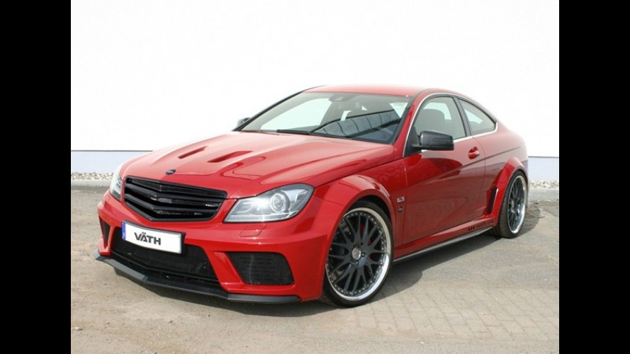 Mercedes-Benz C63 Black Series by Väth: 756 cv de emoção