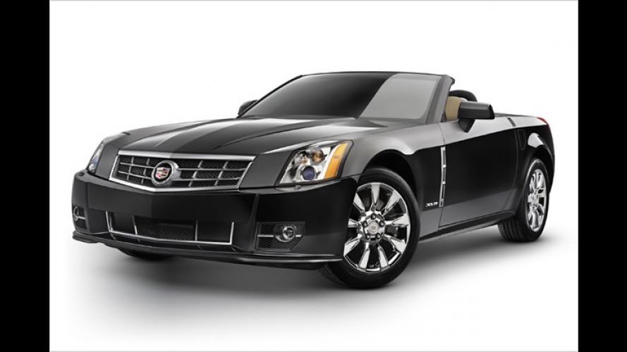 Cadillac: 2009er-Version des Luxus Roadster XLR rollt an