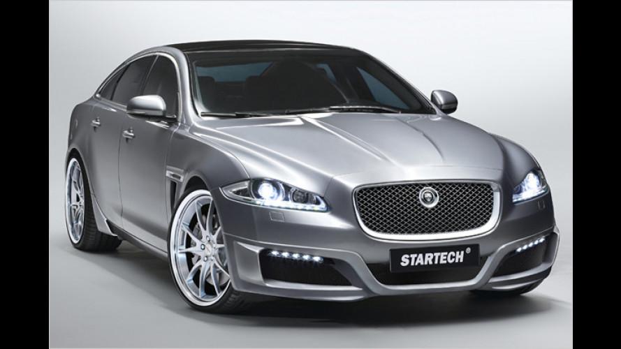 Edelkatze: Startech schärft dem neuen Jaguar XJ die Krallen