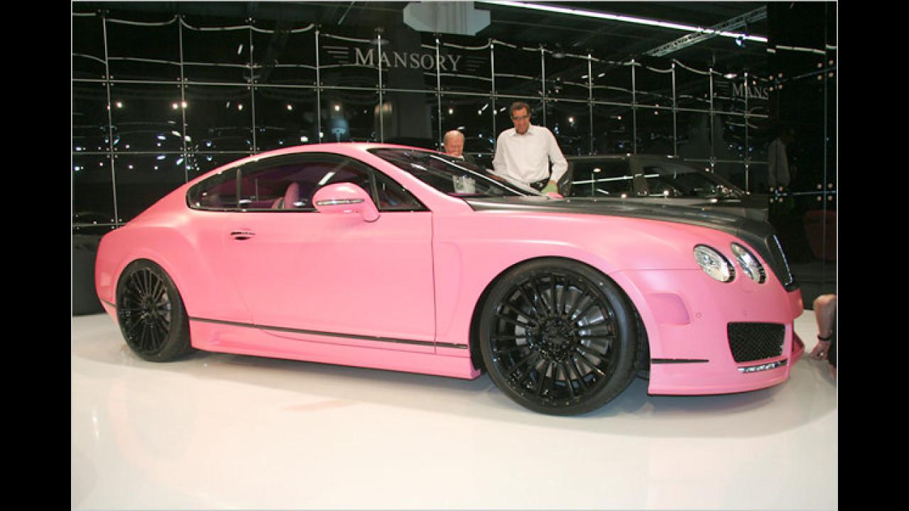 Mansory Bentley Vitesse Rosé