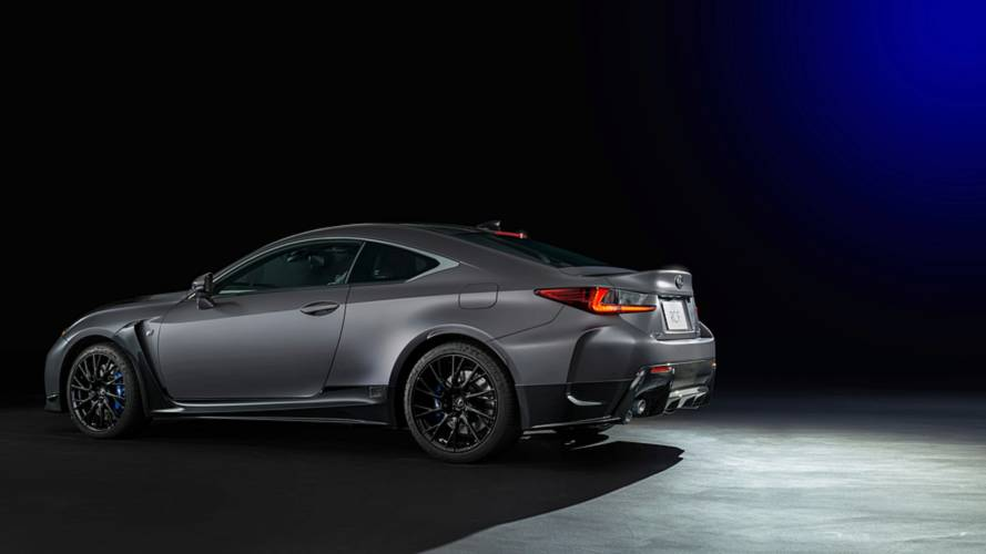 Lexus'un F Versiyonlarının 10.Yılına Özel RC F Coupe