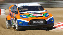 New Ford Fiesta Rallycross Car