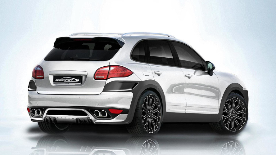 speedART TITAN EVO based on Porsche Cayenne II previewed