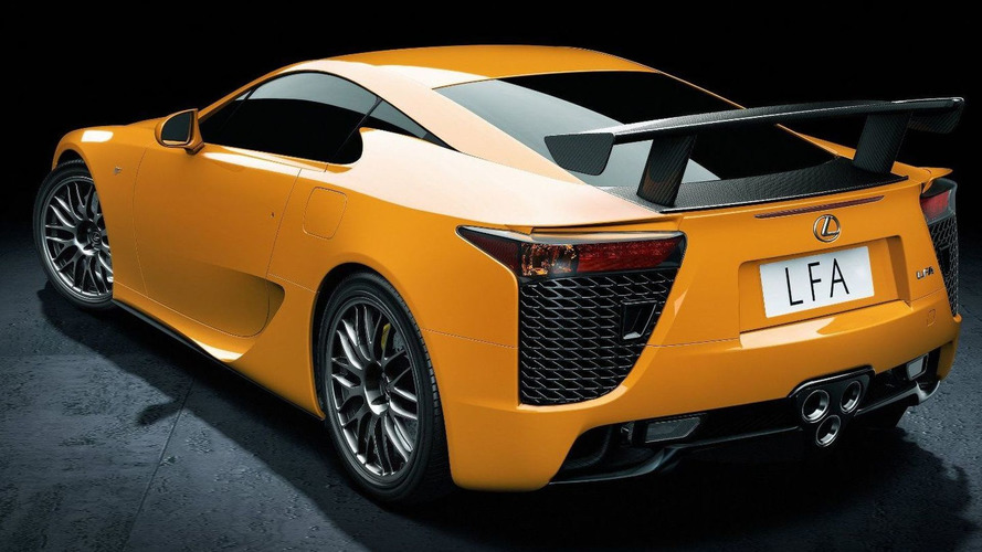 Lexus prices LFA Nurburgring Edition package at $70,000
