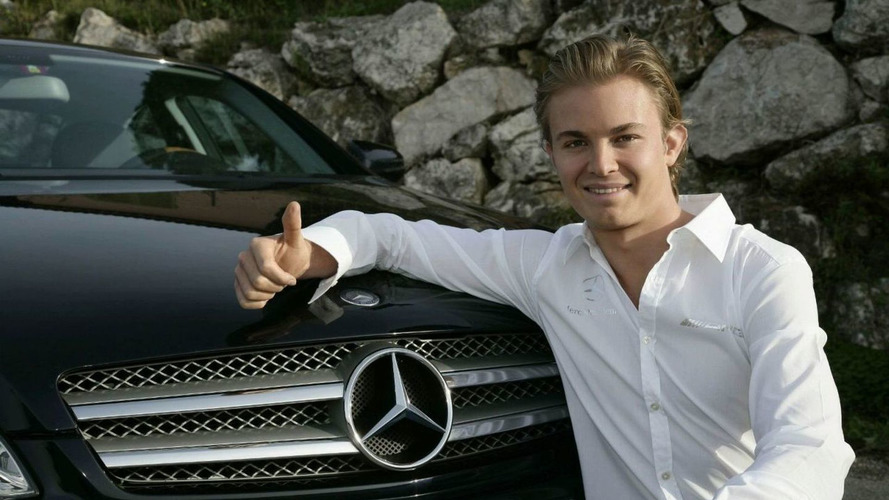 Mercedes names Nico Rosberg as 2010 driver