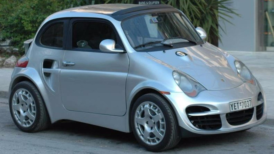 Porsche 911-Look Fiat 500 Is Like A Cloning Experiment Gone Wrong