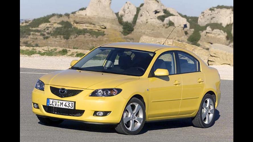 Mazda wird aktiv: Sondermodell Mazda 3 Active