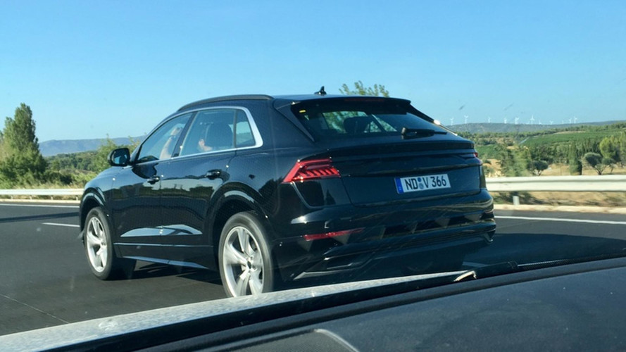 Audi Q8 Spotted With Almost No Disguise