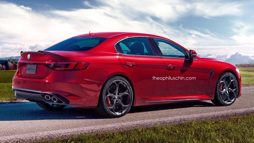 Alfa Romeo'nun BMW 5 Serisi rakibi 2018'de geliyor