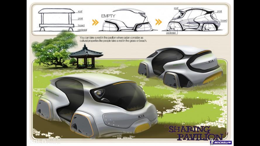 Sharing Pavilion by Da-eun Lee,