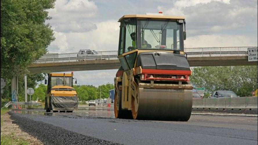Dramma asfalto in Italia: non si vende più il bitume
