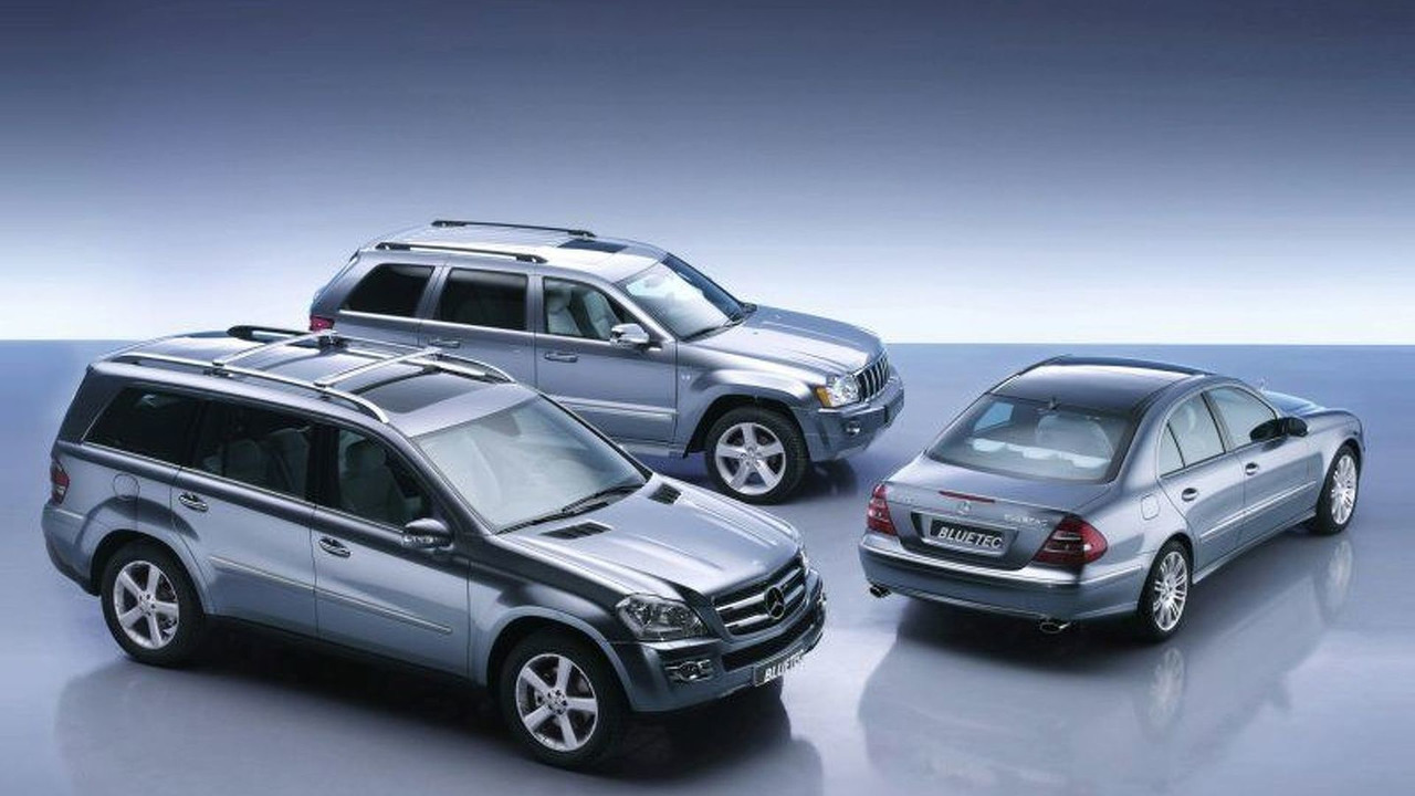 Mercedes GL320 & E320 BLUETEC