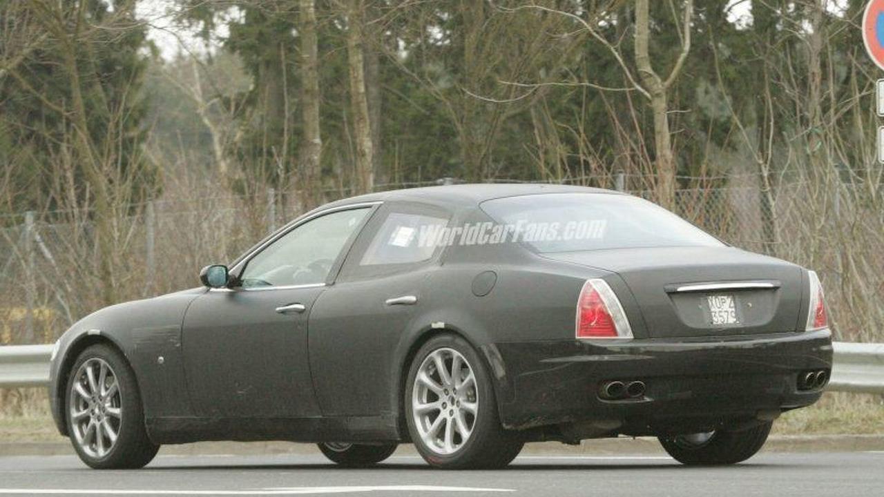 Maserati Quattroporte Coupe Spy Photos